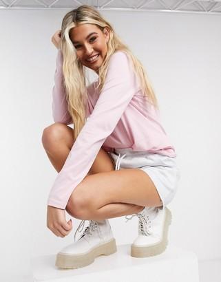 Polo Ralph Lauren long sleeve classic t-shirt in pink