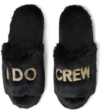 Dearfoams I Do Crew Slide Slippers (Women)