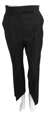 Acne Studios Navy Wool Trousers