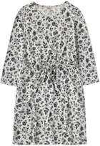 Cath Kidston Pressed Flowers Ditsy Drawstring Jersey Dress