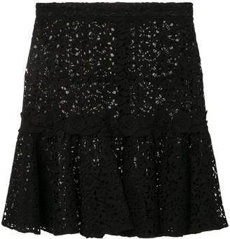 Giambattista Valli Embroidered Middle Skirt