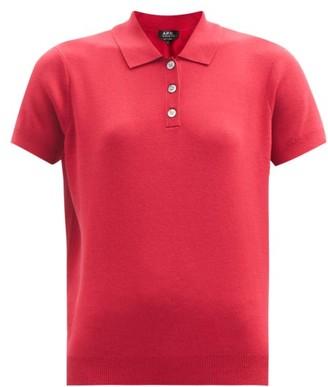 A.P.C. Mathilda Polo Shirt - Red