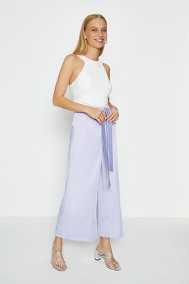 Coast Tie Belt Wide Leg Trousers