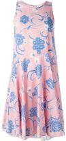 P.A.R.O.S.H. flared floral print dress
