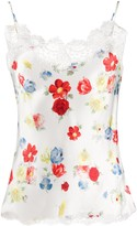 Ermanno Scervino floral-print satin camisole