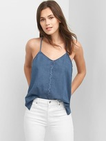 Gap Denim twist-back cami