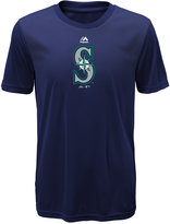 Majestic Kids' Seattle Mariners Geo Strike T-Shirt