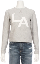 TALLEY Overlap Puff LA Pullover Sweatshirt