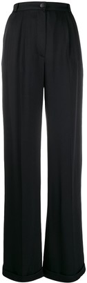 Chanel Pre Owned 2002 Wide-Leg Trousers