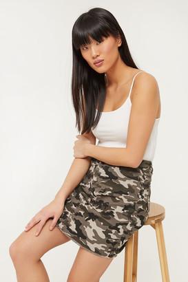 Ardene Camo Mini Skirt