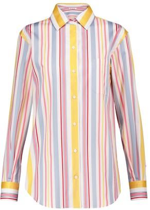 Loro Piana Andre striped cotton poplin shirt