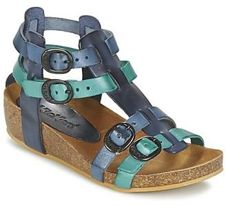 Kickers BOMDIA girls's Sandals in Blue