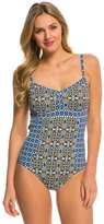 Tommy Bahama Tile Medallion One Piece Swimsuit 8140877