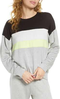 Socialite Brushed Stripe Pullover