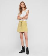 AllSaints Lena Suede Skirt