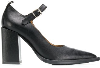 Ami Paris chunky heel pumps