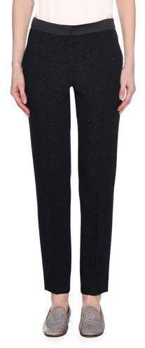 Giorgio Armani Lurex® Double Face Wool Pants