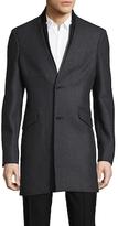 The Kooples Authentic Wool Top Coat