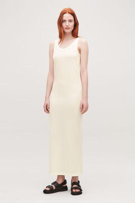 Cos Sheer Vest Dress