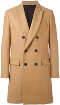 Ami Alexandre Mattiussi double breasted coat - men - Virgin Wool/Polyimide - 42