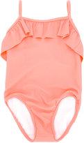 Chloé Kids - ruffled swimsuit - kids - Polyamide/Spandex/Elastane - 6 mth