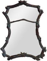 One Kings Lane Vintage Faux-Bois Verdigris Twig Mirror