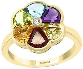 Effy Fine Jewelry 14K 2.97 Ct. Tw. Diamond & Gemstone Ring