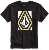Volcom Men's Outerlock Graphic-Print Logo Cotton T-Shirt