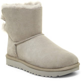 UGG Mini Bailey Bow Strip UGGpure Wool Boot