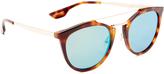 McQ by Alexander McQueen Alexander McQueen Oxford Mirrored Sunglasses