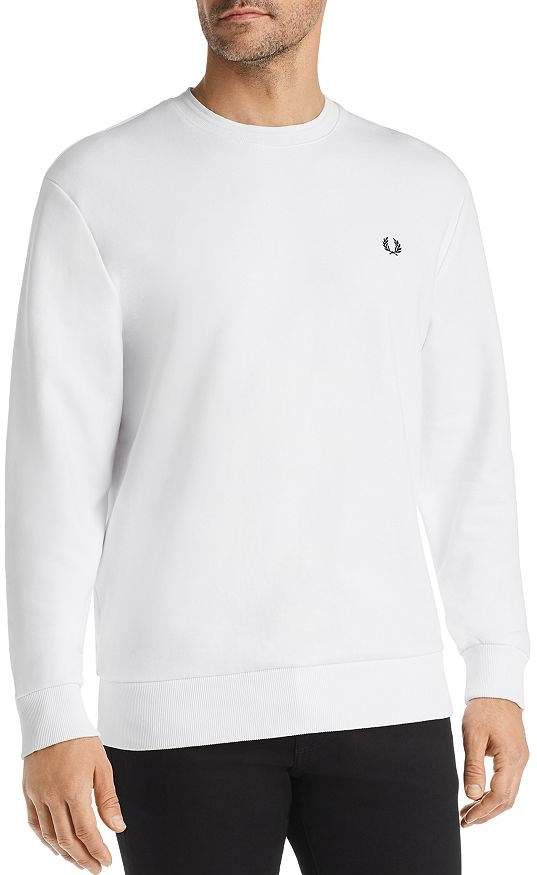 Fred Perry Logo-Appliqué French Terry Sweatshirt