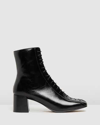 Jonak Adela Leather Ankle Boots