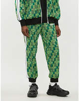 Palm Angels Tribal-pattern jacquard jogging bottoms
