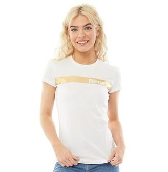 Bench Womens Berg T-Shirt White