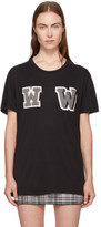 Off-White Black Oversized ww T-shirt