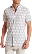 Zanerobe Collared Short Sleeve Polka Dot Shirt