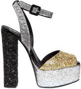 Giuseppe Zanotti Design 140mm Glittered Sandals