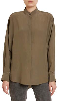 Isabel Marant Cade Classic Silk Shirt