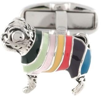 Paul Smith Pug cufflinks