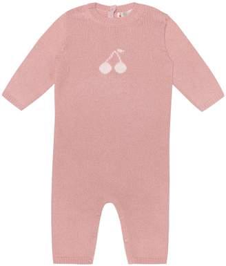 Bonpoint Baby cashmere playsuit