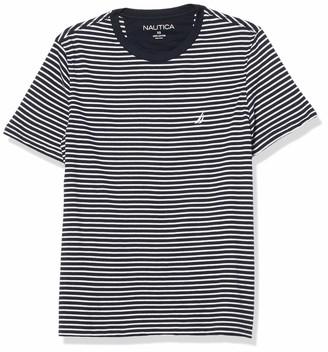 Nautica Men's Short Sleeve J-Class Stripe Tee