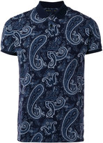 Etro paisley print, short sleeve polo shirt - men - Cotton - S