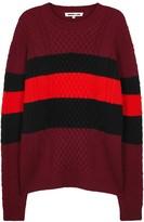 Mcq Alexander Mcqueen Colour-block Wool Jumper