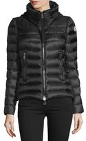 Moncler Agape Short Puffer Jacket, Black