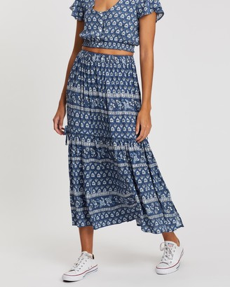 Rip Curl Navy Beach Maxi Skirt