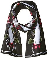 Ted Baker Women's Bayan Bejewelled Shadows Cigarette Scarf