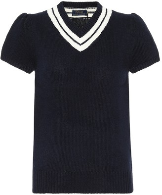 Polo Ralph Lauren Cotton-blend knit top