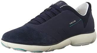Geox Nebula C Women Low-Top Sneakers, Blue (NAVYC4002), 7 UK (40 EU)