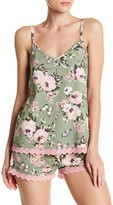 PJ Salvage Coming Up Roses Lace V-Neck Tank Top