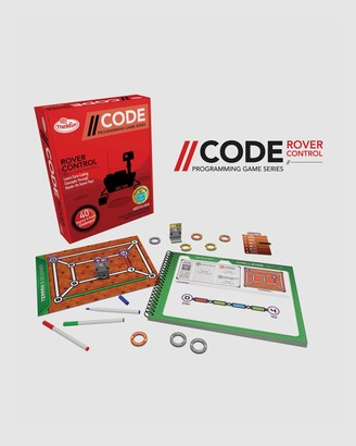 ThinkFun - Red Games - --CODE Rover Control Game - Size One Size at The Iconic